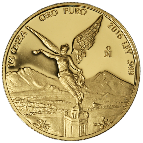 Buy 2016 1 4 Oz Mexican Proof Gold Libertads 999