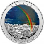 2016-1-oz-proof-canadian-silver-weather-phenomenon-radiant-rainbow-rev