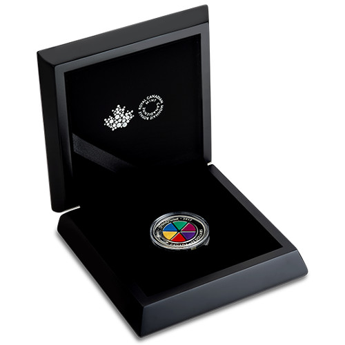 2017 1 Oz Proof Silver Canadian Trivial Pursuit Coins