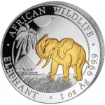 2017-1-oz-somalian-silver-elephant-coin-gilded