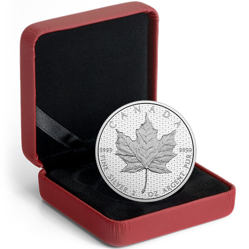 2017 Silver Canadian Canada 150th Iconic Maple Leaf Coins