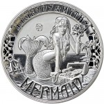 2016-2oz-Reverse-Proof-Solomon-Islands-Silver-Legends-and-Myths-Mermaid-Coin