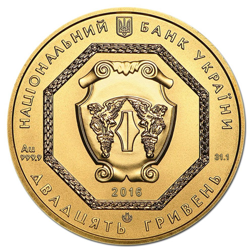 Buy 2016 1 Oz Gold Ukrainian Archangel Michael Coins