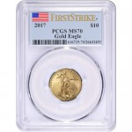 2017-1-4-oz-american-gold-eagle-pcgs-ms70-fs-obv