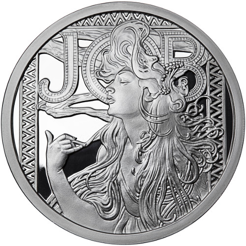 Buy 1 Oz Proof Silver Mucha Collection Job Rounds Silver Com