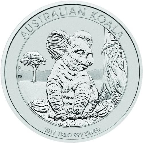 Buy 2017 1 Kilo Silver Australian Koalas 999 Bu