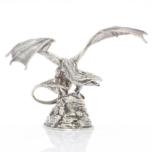 Buy 1 Kilo Antique Finish Coco The Dragon Silver Statues