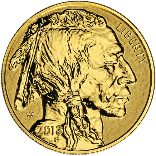 Buy 2013 W 1 Oz Reverse Proof Gold American Buffalo Coins