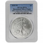 2016-W-Burnished-American-Silver-Eagle-PCGS-SP70-Edge-Lettered