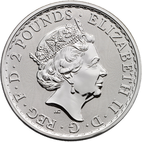 Buy 20th Anniversary Silver British Britannias 999 Bu