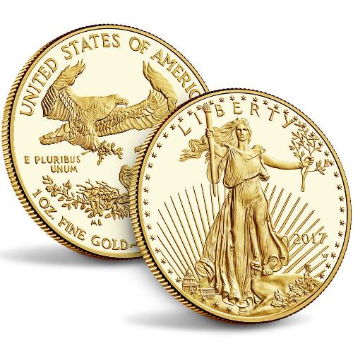 Buy 2017 W 1 Oz Proof Gold Eagles Silver Com
