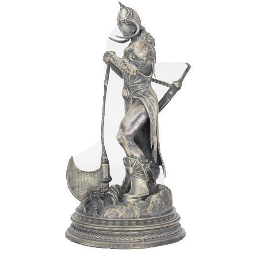 Buy 6 Oz Antique Finish Death Dealer Silver Statues