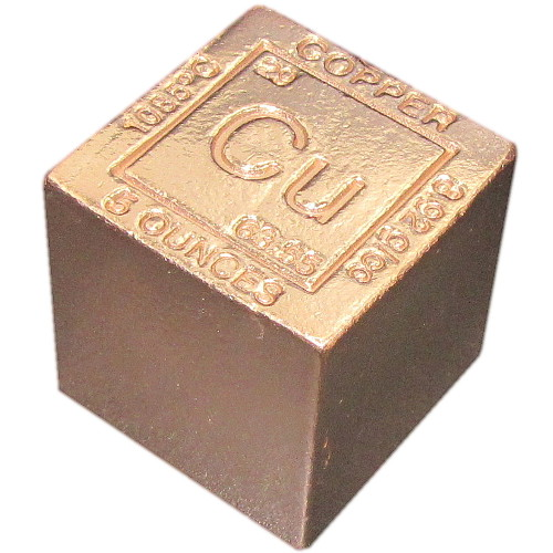 Buy 5 Oz Copper Bullion Cubes New 999 Pure Silver Com