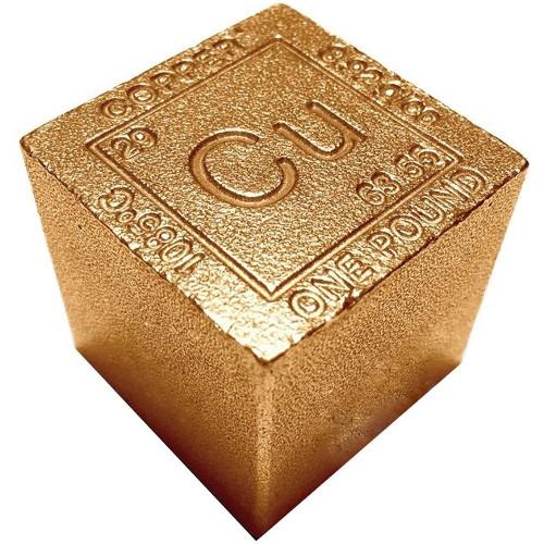 Buy 1 Pound Copper Bullion Cubes New 999 Pure