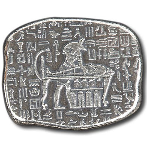 Buy 1 Oz Monarch Egyptian Relic Silver Bar New Silver Com