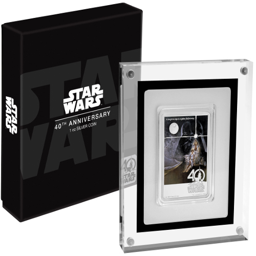 Buy 2017 1 Oz Silver Niue Star Wars 40th Anniversary Coins