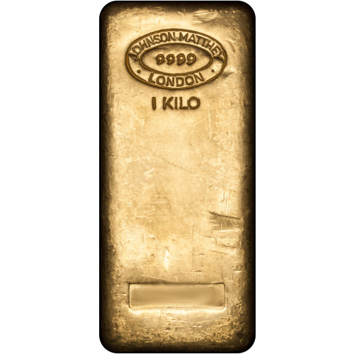 Buy 1 Kilo Johnson Matthey Gold Bars 999 New Silver Com