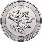 2016_1_1_2_oz_Canadian_Silver_SuperLeaf_Coin_BU