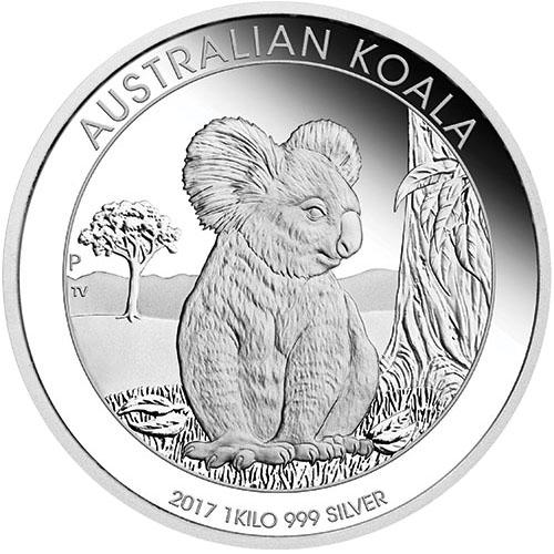 1 Kilo Australian Silver Koala Coin