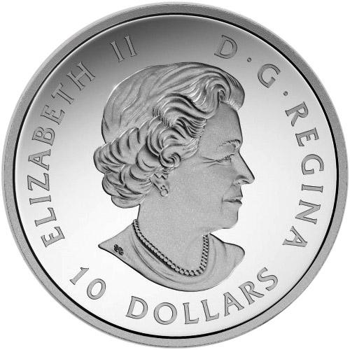 Buy 2017 10 Oz Silver Canadian Magnificent Maple Leafs Bu