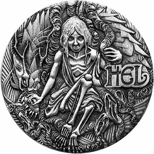 Buy 2017 2 Oz Silver Tuvalu Norse Goddesses Hel Coins