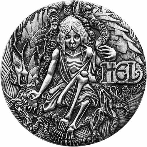 buy 2017 2 oz silver tuvalu norse goddesses hel coins silver com