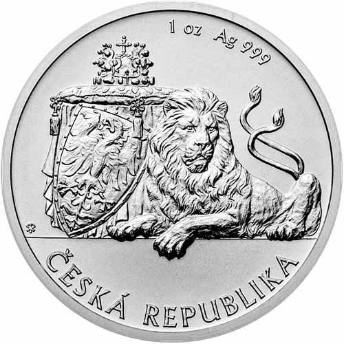 Buy 2017 1 Oz Silver Niue Czech Lion Coins Bu Silver Com