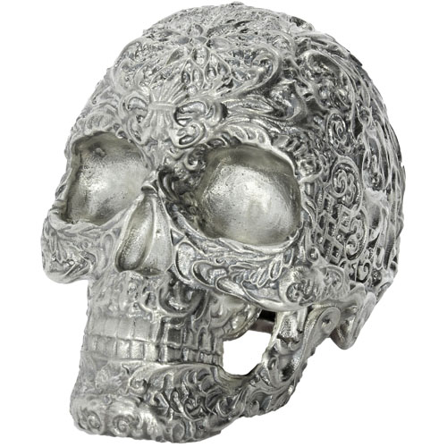 Buy 15 Oz Silver Skulls Of The Dead New Box Coa