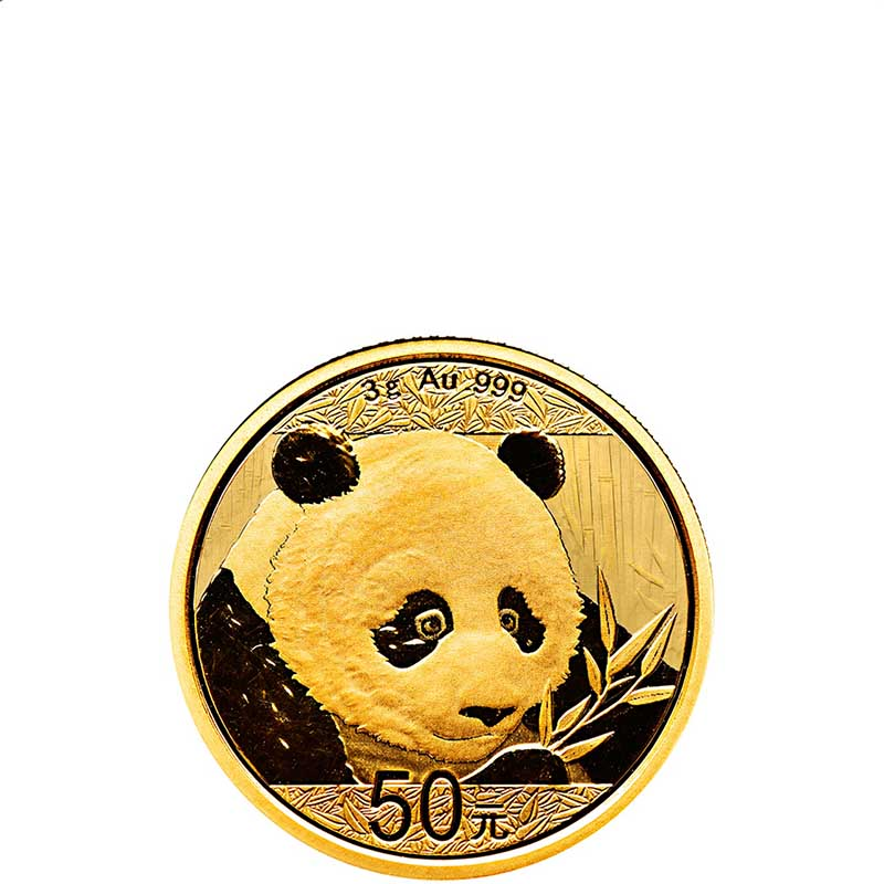 Buy 2018 3 Gram Gold Chinese Panda Coins Online Silver Com
