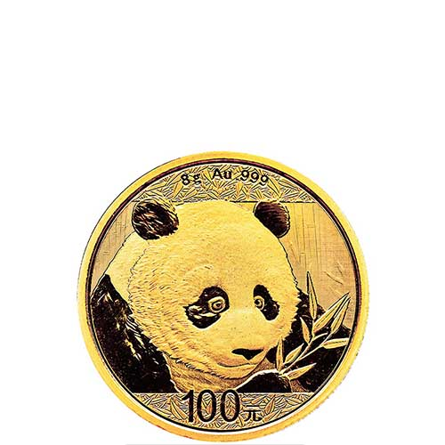 Buy 2018 8 Gram Gold Chinese Panda Coins Online Silver Com