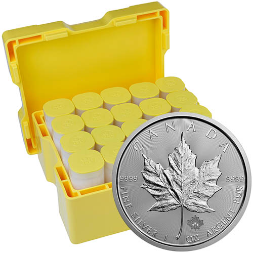 Buy 2018 1 Oz Silver Canadian Maple Leaf Monster Box