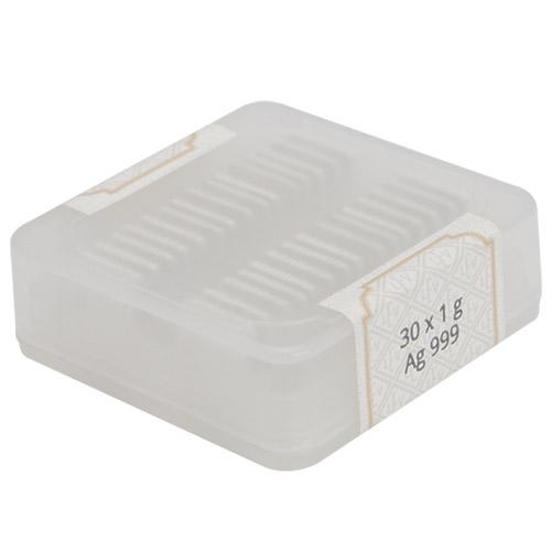Buy 1 Gram Silver Geiger Square Bars Silver Com