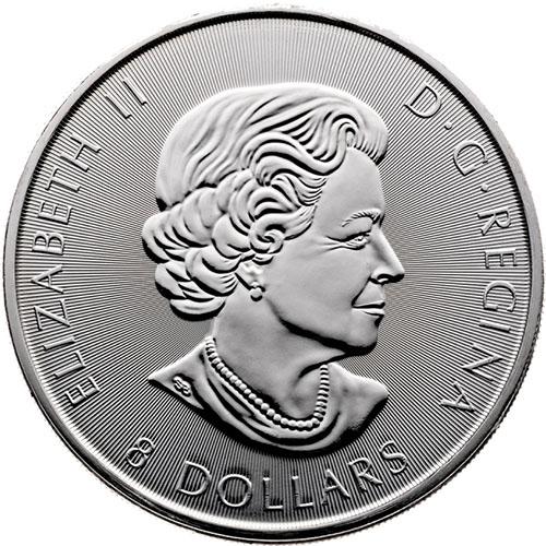 SKU#170626 2017 Canada 1.5 oz Silver $8 Grizzly Bear BU