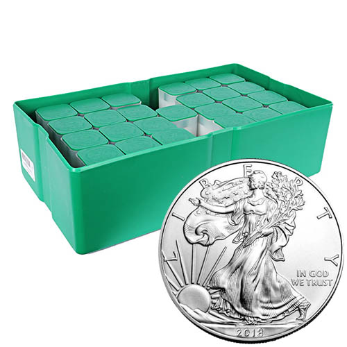 Buy 2018 Silver American Eagle Monster Boxes 500 Coins