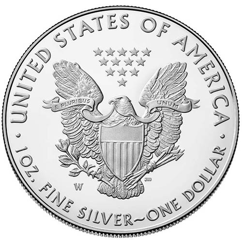 Buy 2018 W 1 Oz Proof Silver American Eagles Silver Com