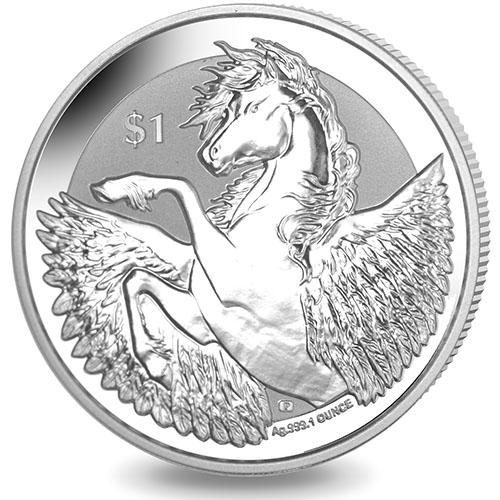 British Virgin Islands  Oz Silver Pegasus