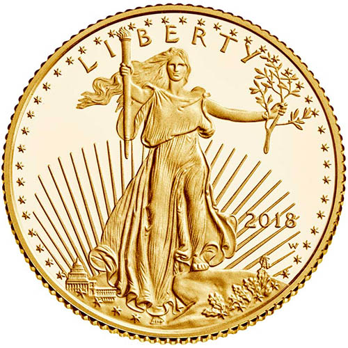 Buy 2018 W 1 Oz Proof Gold Eagles Silver Com
