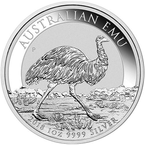 Buy 2018 1 Oz Australian Silver Emu Coin Bu Silver Com