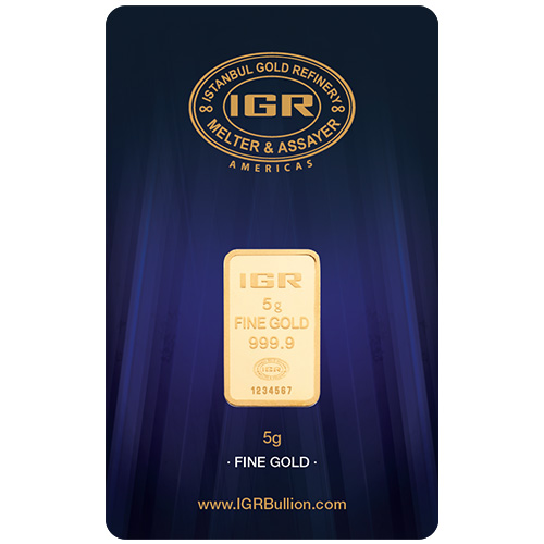 Buy 5 Gram Gold Istanbul Gold Refinery Bars New Silver Com