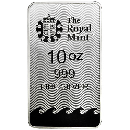 Buy 10 Oz Silver British Britannia Bars Silver Com