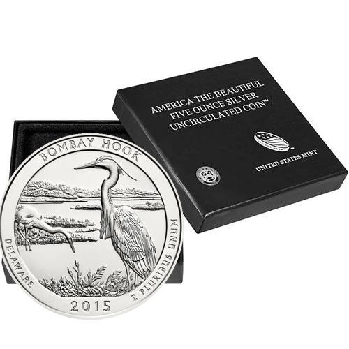 Saratoga National Historical Park ATB 2015 Silver 5oz