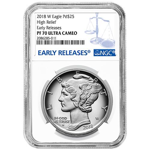Buy 2018 W 1 Oz Proof Palladium American Eagle Coins Ngc