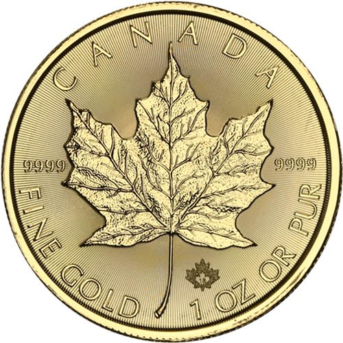 Buy 2019 1 Oz Gold Canadian Maple Leaf Coins Online
