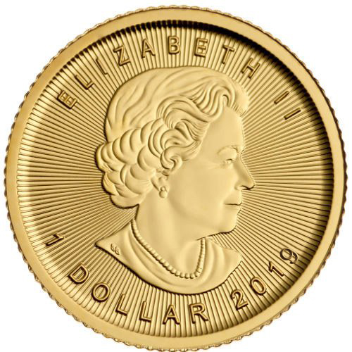 Buy 2019 1 20 Oz Gold Canadian Maple Leaf Coins Online