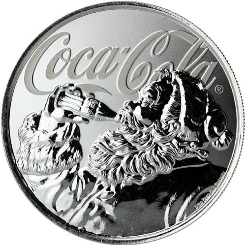 Buy 2019 1 Oz Silver Fiji Coca Cola Holiday Coins Silver Com