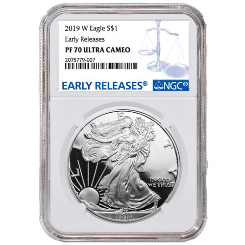 Buy 2019 Proof Silver American Eagle Coins Ngc Pf70 Ucam