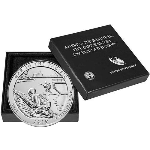 "A 2019 P /""War in the Pacific/"" Guam National Park Quarter US Mint /""BU/"" ATB"