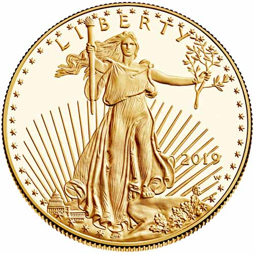Buy 2019-W 4-Coin Proof Gold American Eagle Sets - Silver.com