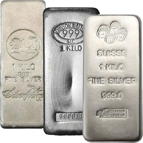 1 Kilo Silver Bars Varied Silver Com