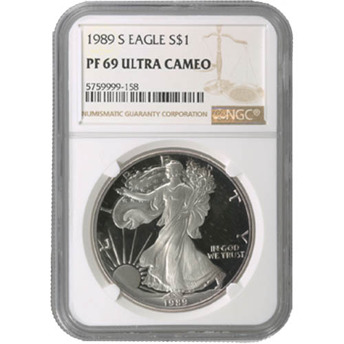 NGC PF69 UCAM 2019-W American Silver Eagle Proof